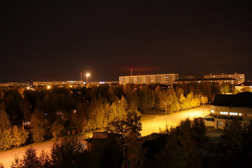Night City, Мегион