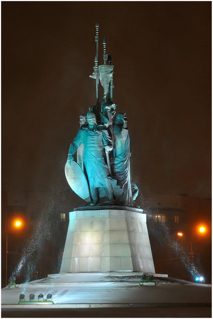 Памятник основателям Сургута, Сургут