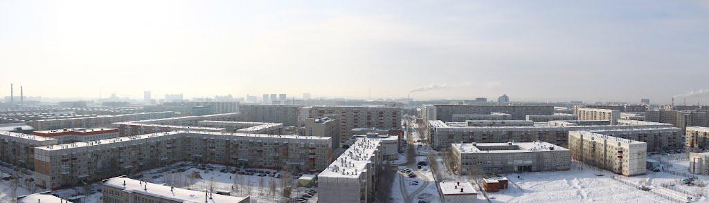 С высоты (04 марта 2012г.), Сургут