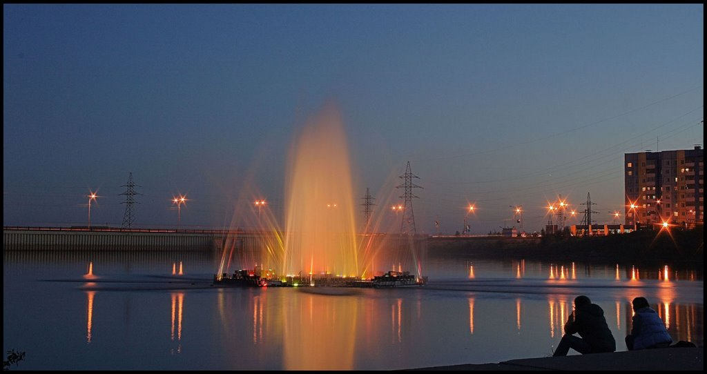Фонтан на Сайме, Сургут