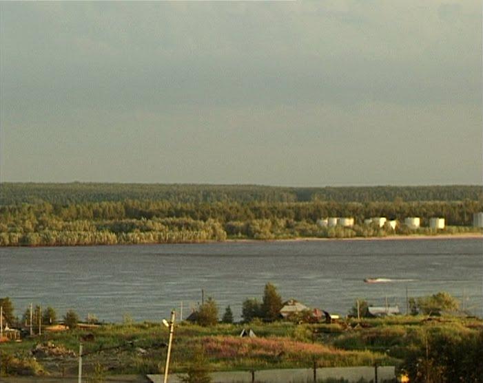 Ob River in Surgut, Сургут