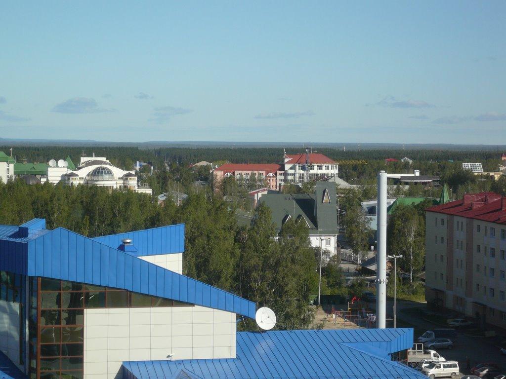 Вид на зеленый город ~SAG~, Ханты-Мансийск