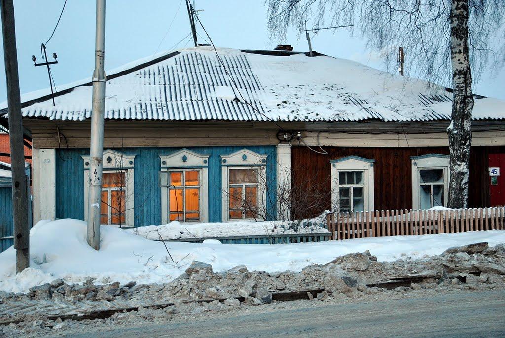 Бывший купеческий дом перевезенный на это место в 1939 году ~SAG~, Ханты-Мансийск