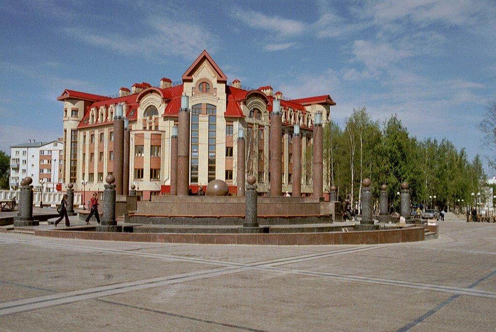 Central Square of Hanty Mansijsk, Ханты-Мансийск