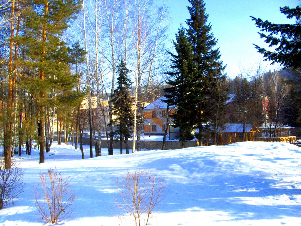 пейзаж Белокуриха, Белокуриха