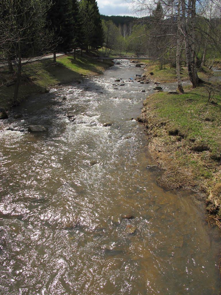 Река Белокуриха, Белокуриха