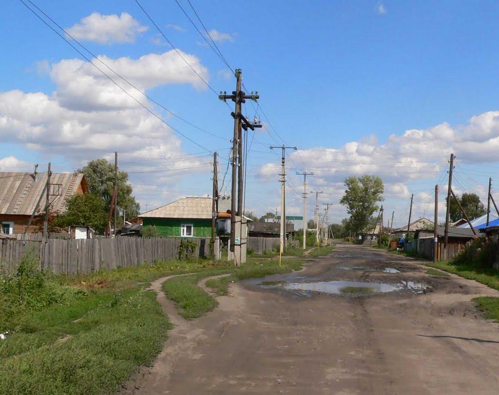 Улица Драничникова, Белоярск