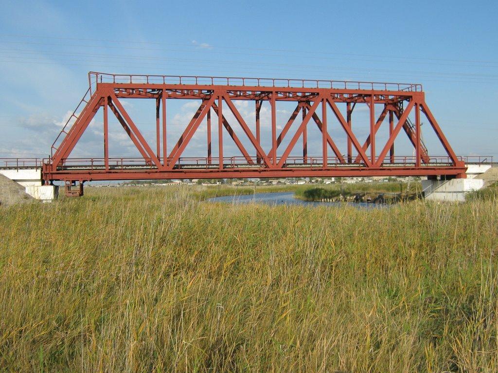 Ж/д мост, Бурла