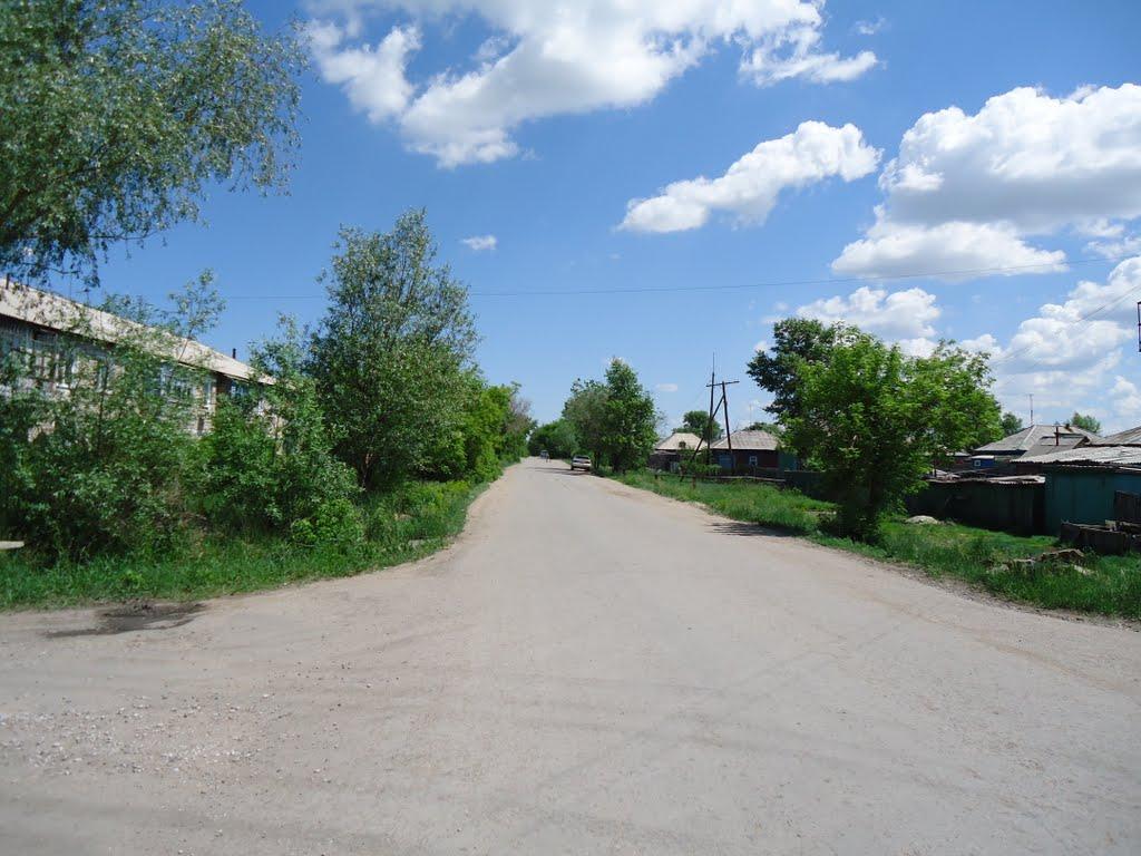 Переулок ул. Садовая и ул. Ленинградская, Горняк
