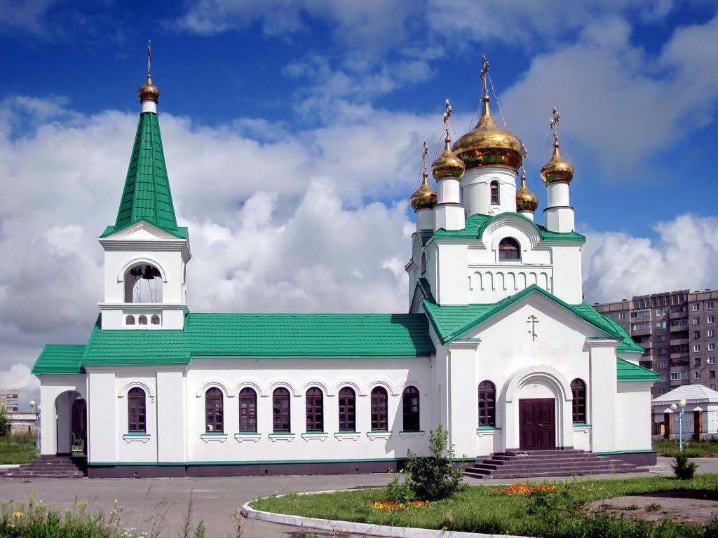 Zarinsk  Вознесенская церковь, Заринск