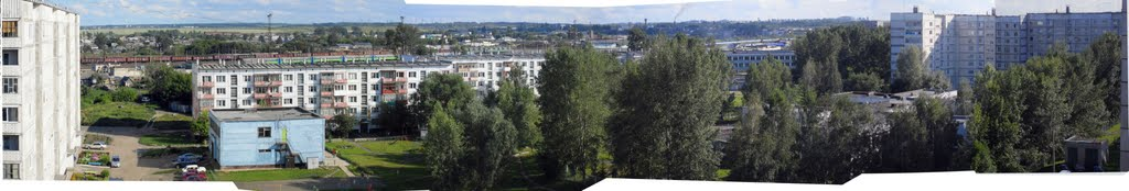 Строителей 24 26072009 вид с 9 этажа, Заринск