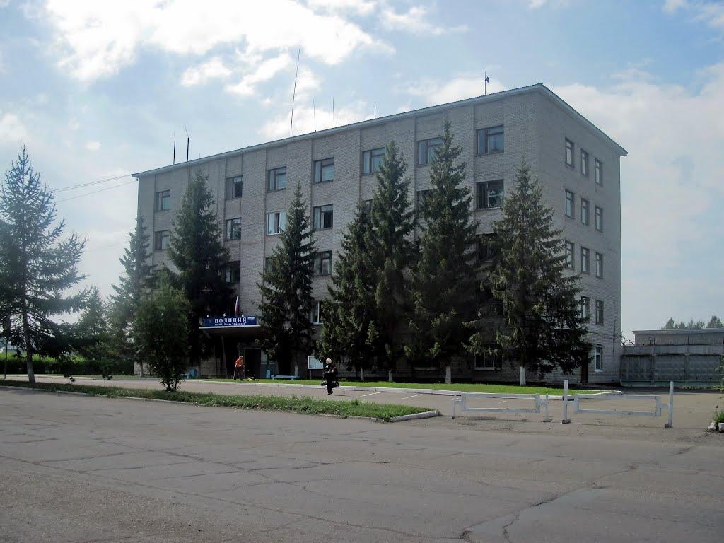 Zarinsk Полиция, Заринск