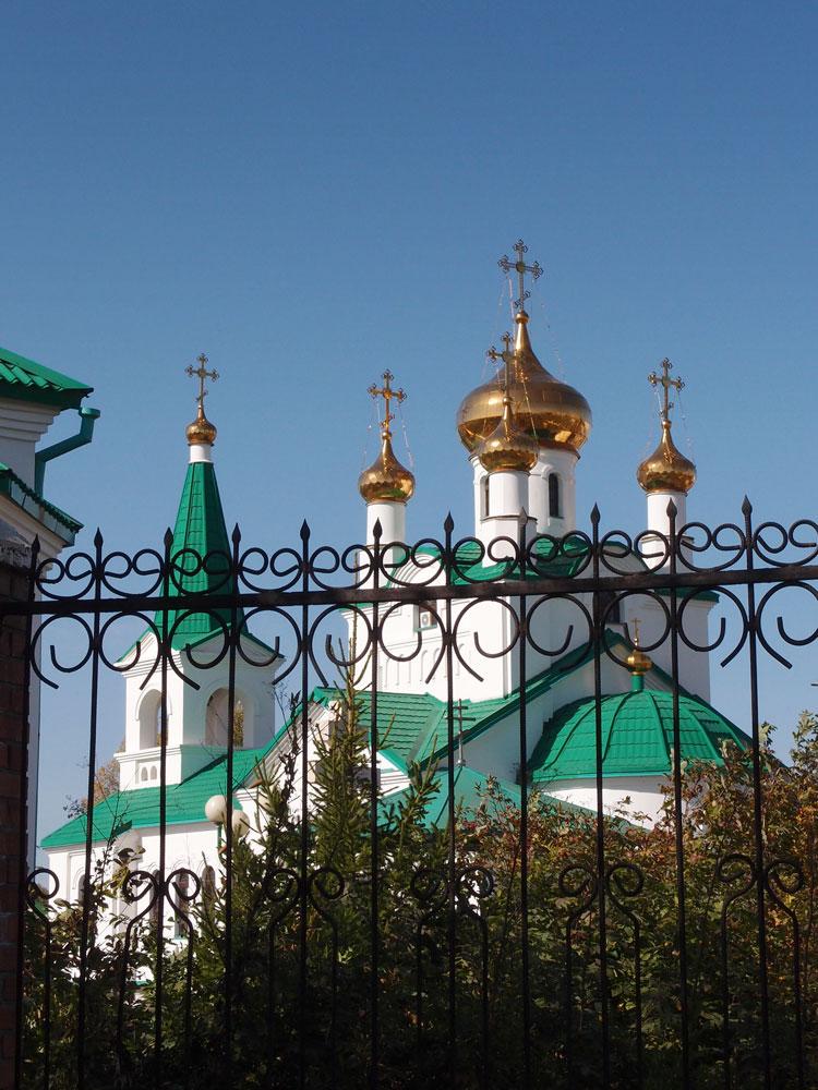 Вознесенская церковь, Заринск