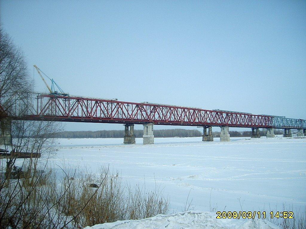 Новый мост, Камень-на-Оби