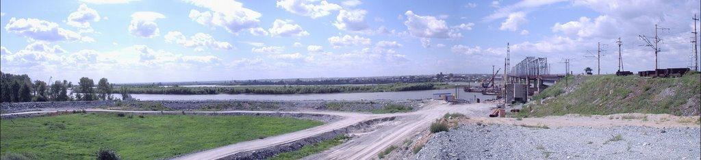 605 км - строительство моста, Камень-на-Оби