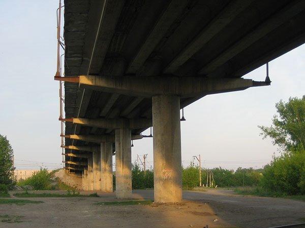 Мост на автодороге Новоалтайск - Белоярск, Новоалтайск