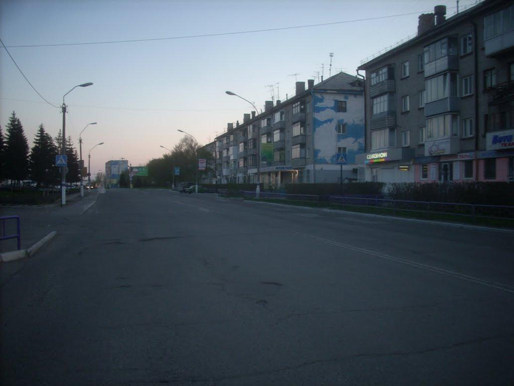 Улица Октябрьская, Новоалтайск