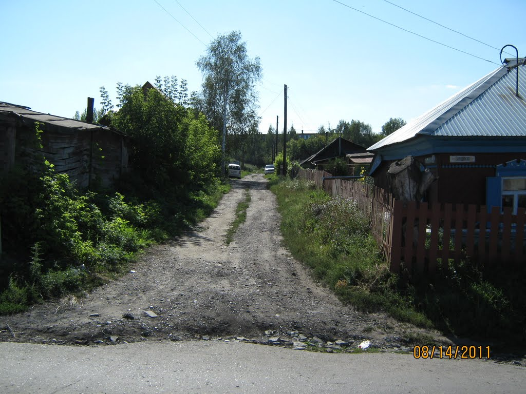 Ул. Лермонтова, Новоалтайск