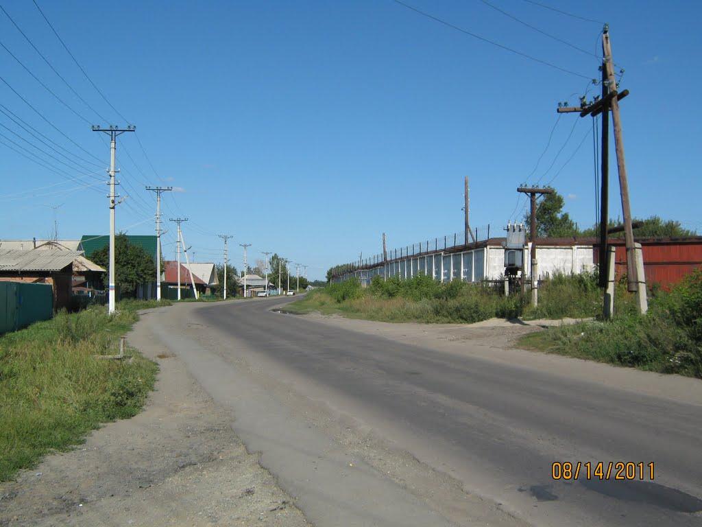 Ул. Коммунистическая, Новоалтайск