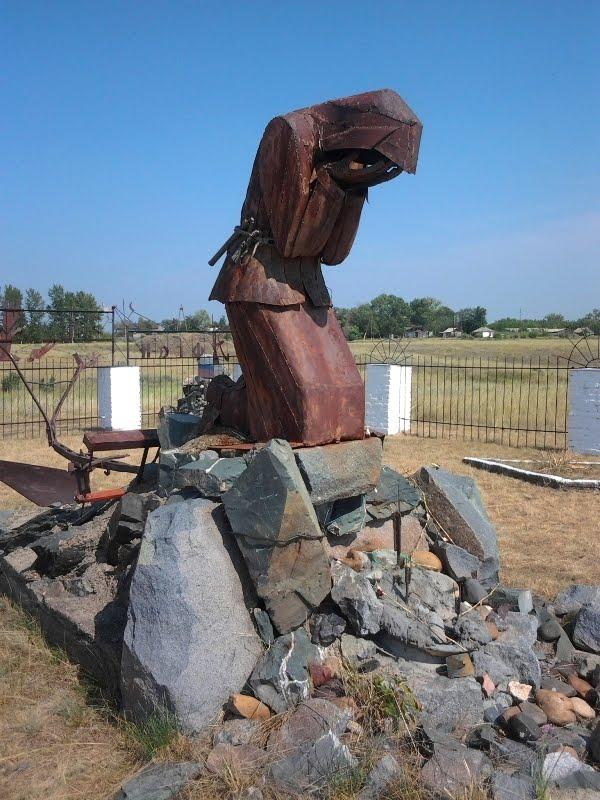 "The memorial ""Farewell of Slavianka"", Онгудай"