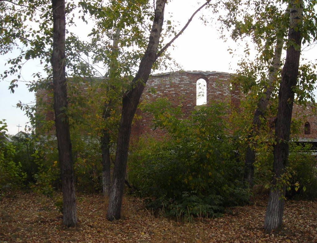 Развалины Сереброплавильного завода, Павловск