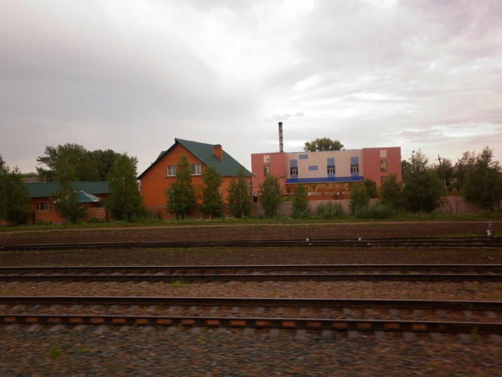 по дороге Алматы - Барнаул (154) ж/д, Поспелиха