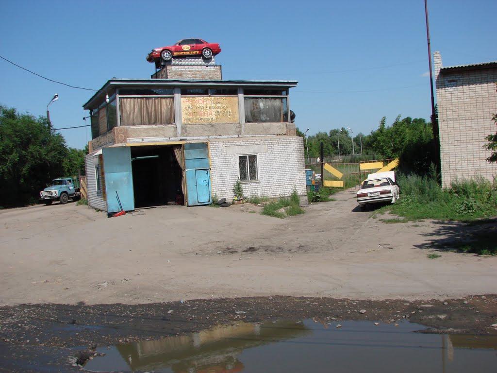 Бывший пост ДПС, Рубцовск