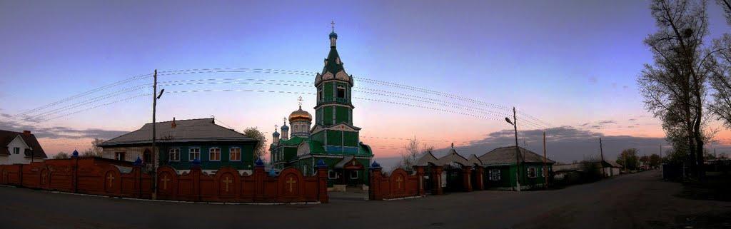 Михайло-Архангельская церковь. Рубцовск., Рубцовск