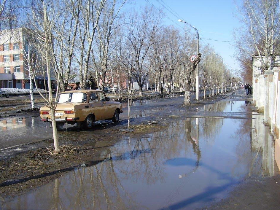 весна, Славгород