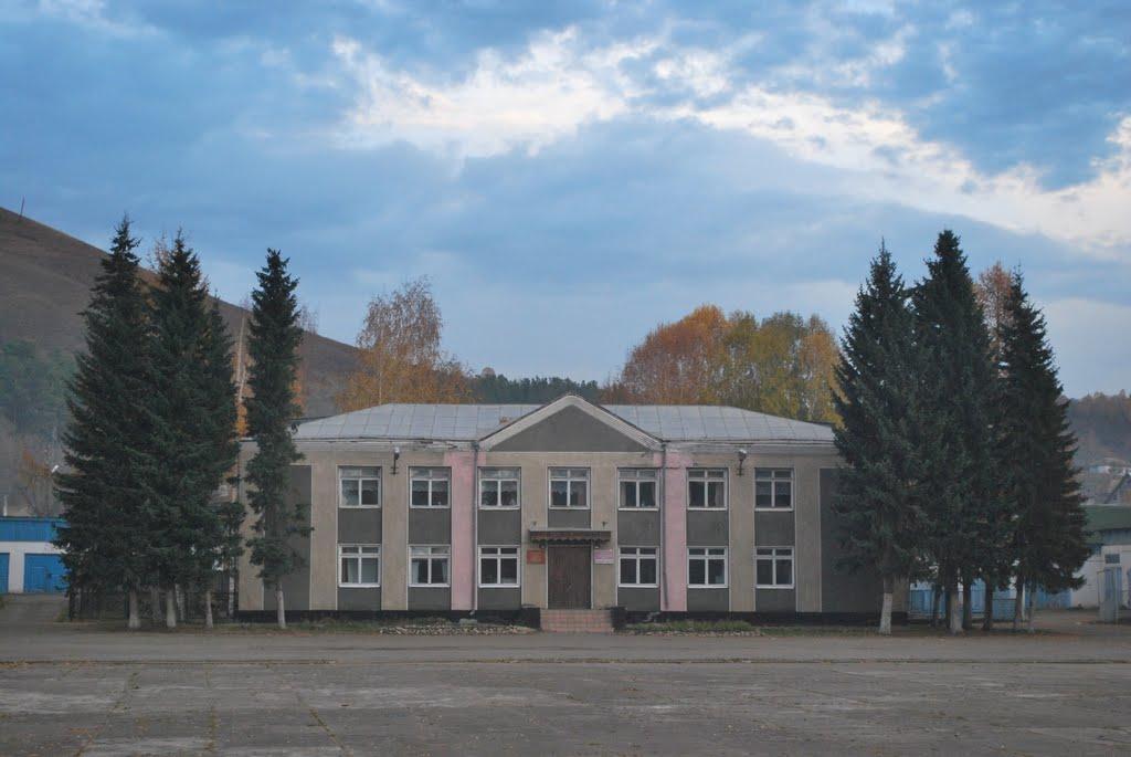 Центр детского творчества и детская школа искуств. (Здание бывшего райкома КПСС), Солонешное