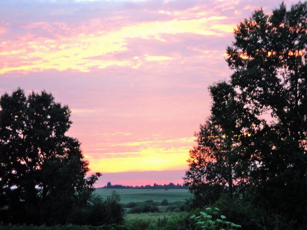 закат в Урунске, Солтон