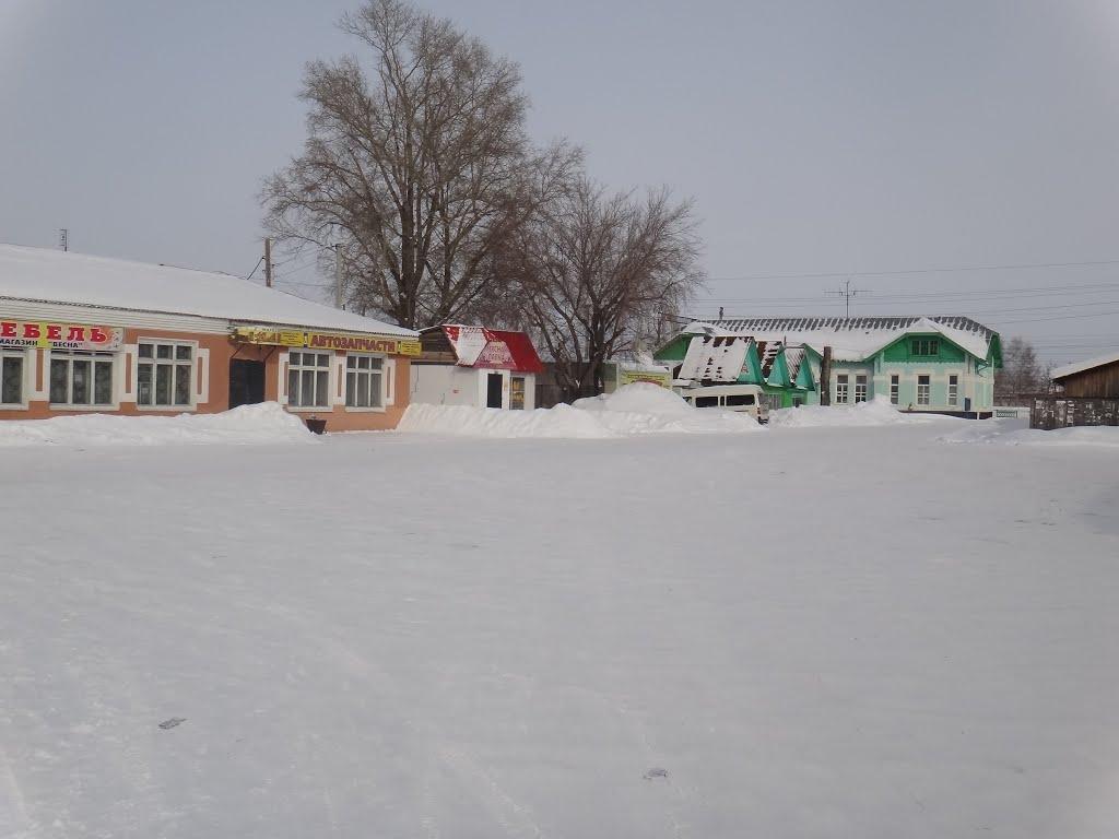 Привокзальная площадь, Тальменка