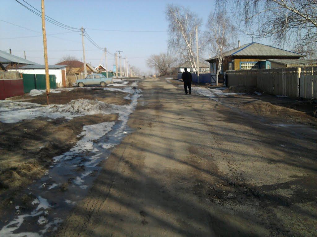 Дорога, Усть-Калманка