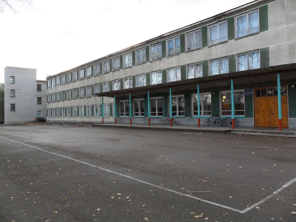 Школа, Усть-Калманка