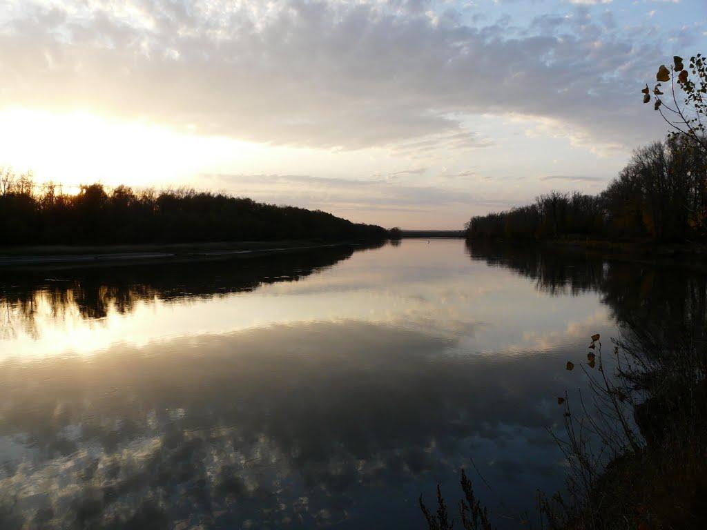 р. Чарыш, Усть-Калманка