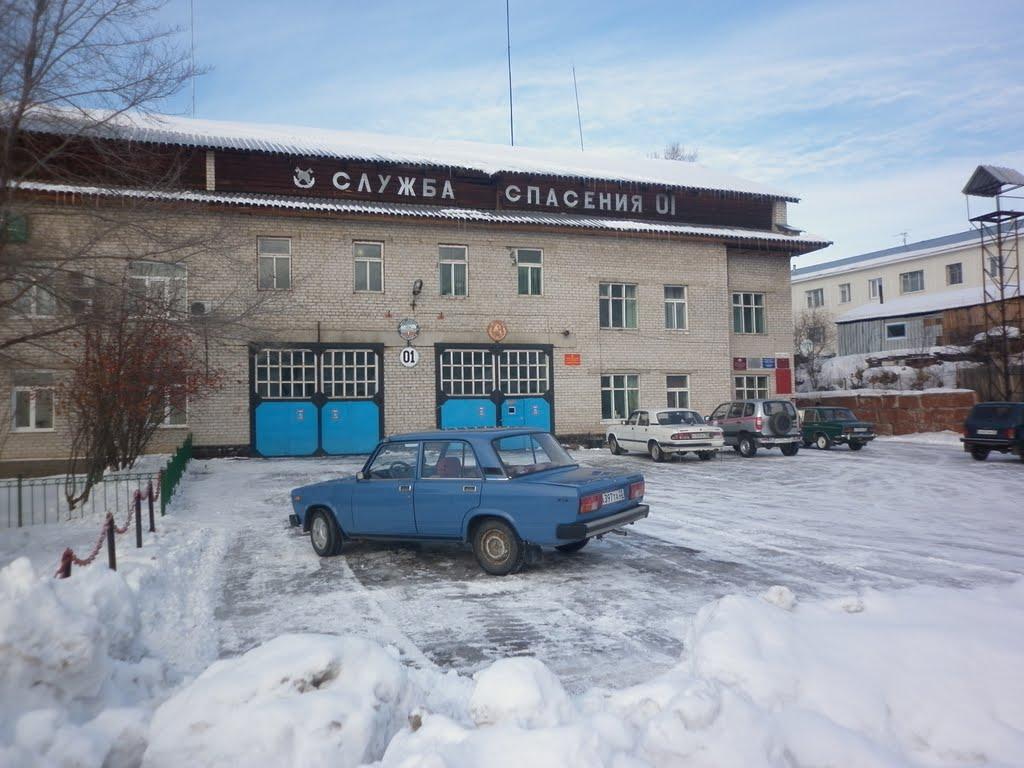 Пожарная часть, Чарышское
