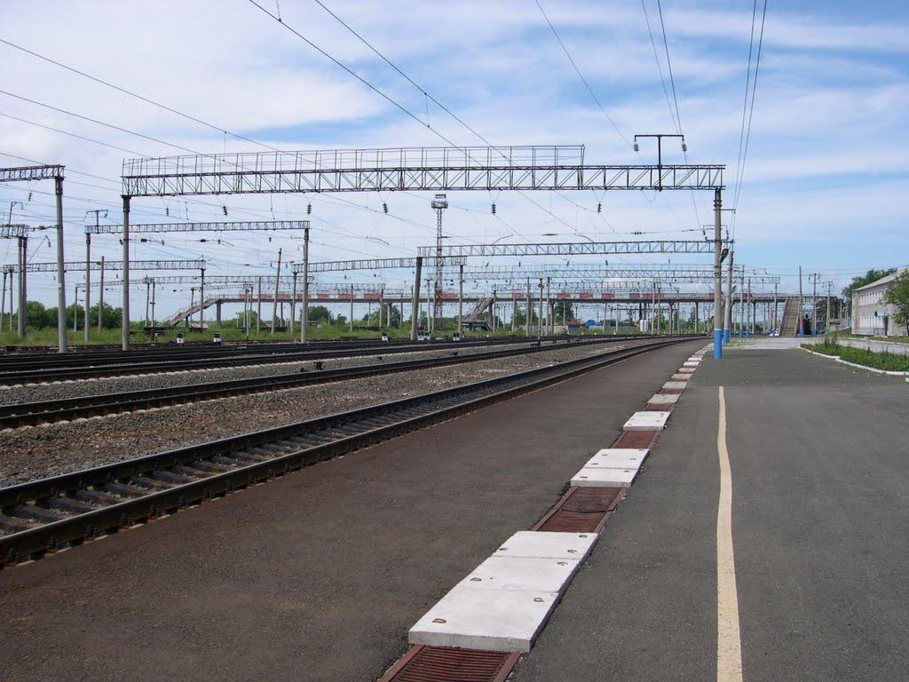 TransSiberian Railroad / Транссибирская магистраль, Архара