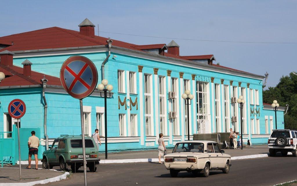 Белогорск, вокзал 7866 км Транссиба, Белогорск