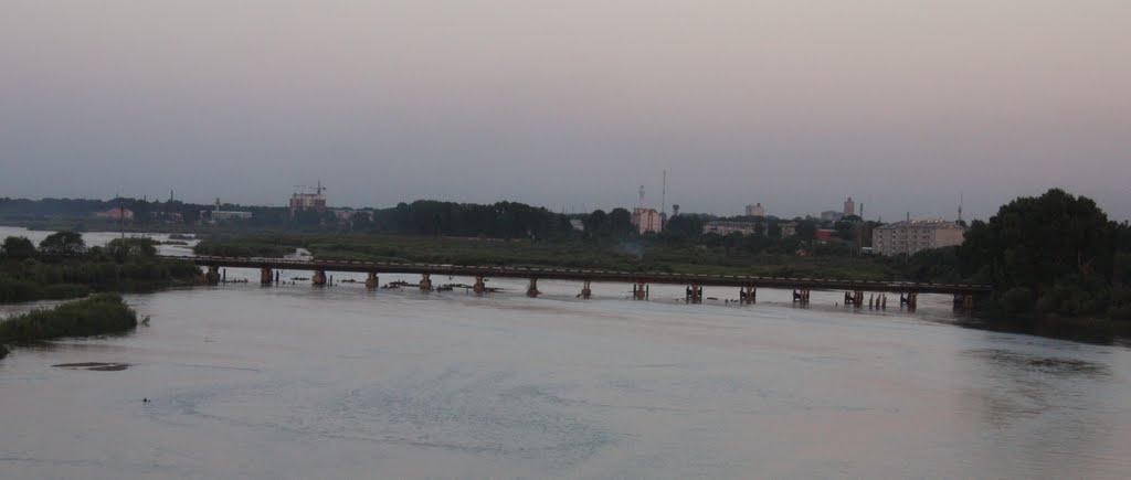Автом. мост через р.Томь, Белогорск