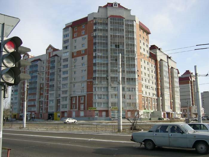 Перекрёсток Игнатьевского шоссе и Студенческой, Благовещенск (Амурская обл.)