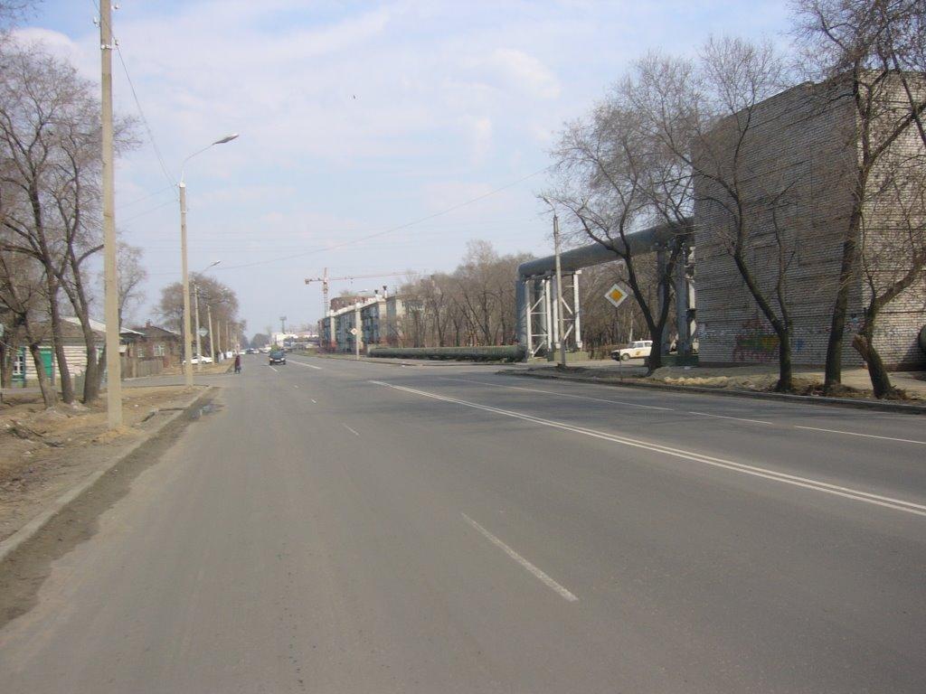 Улица Октябрьская, Благовещенск (Амурская обл.)