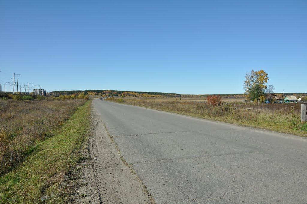 Ekaterinoslavka (2012-09) - End of town, Екатеринославка