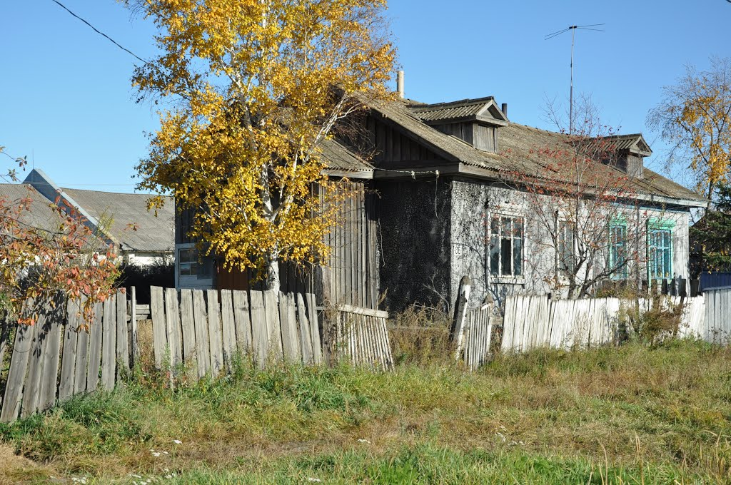 Ekaterinoslavka (2012-09) - Local house, Екатеринославка