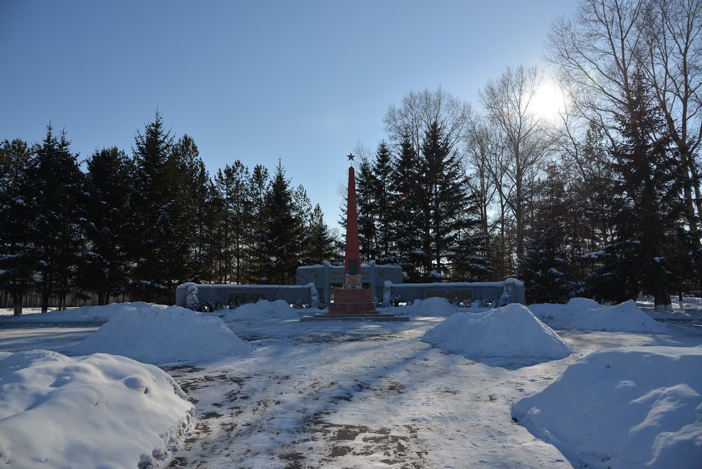 Ekaterinoslavka (2013-02) - War memorial, Екатеринославка