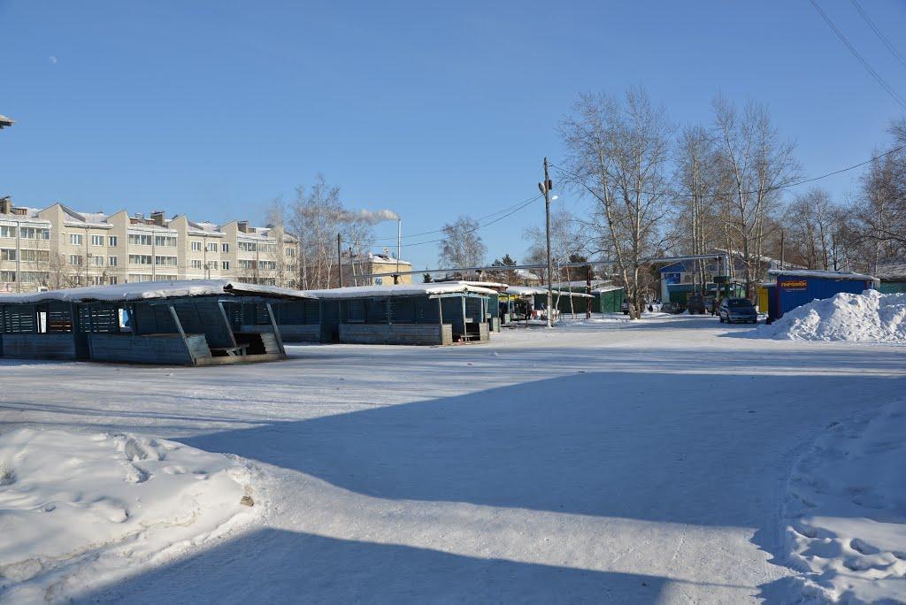 Ekaterinoslavka (2013-02) - Market place, Екатеринославка