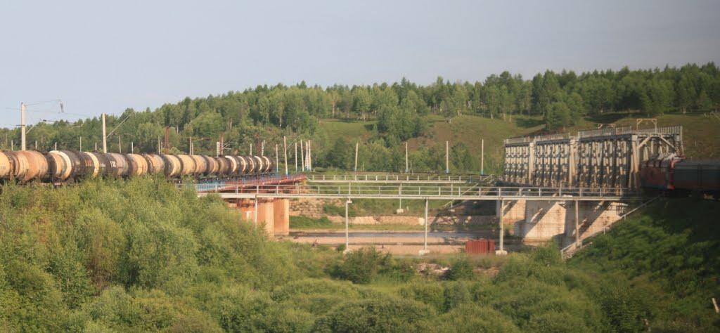 Мост через р.Урка 7109км Транссиба, Ерофей Павлович