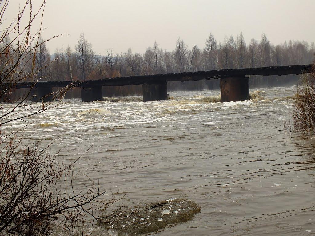 мост через р. Урку, Ерофей Павлович