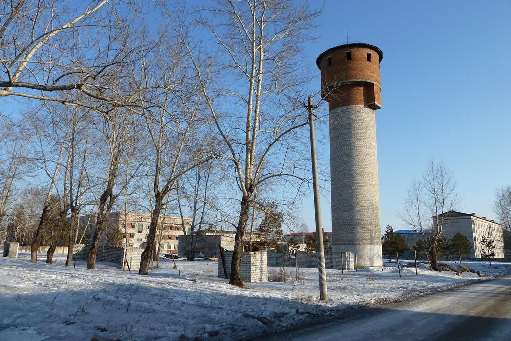 Водонапорная башня, тренировочный городок, Магдагачи