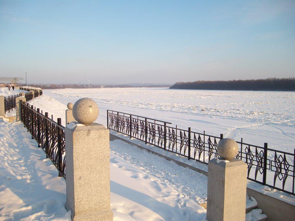 Набережная Буреи (п.Новобурейский), Новобурейский