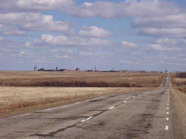 дорога (the road), Ромны